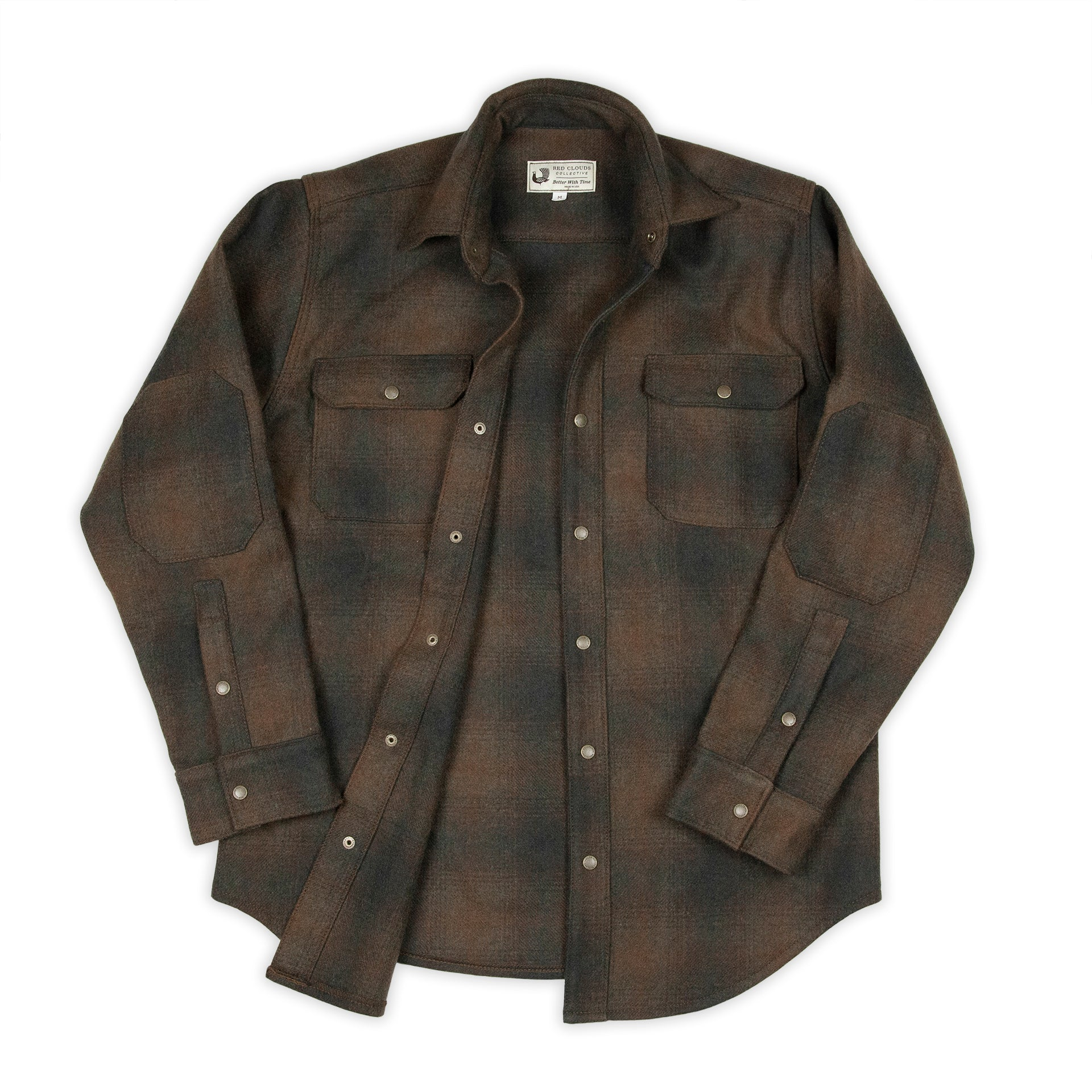 Witham Work Shirt - Heavy Wool