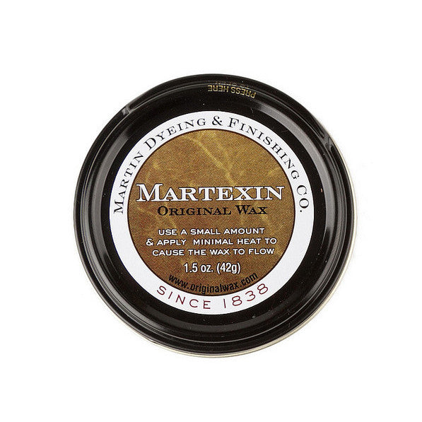 Waxed canvas, re-waxing formula by Martexin