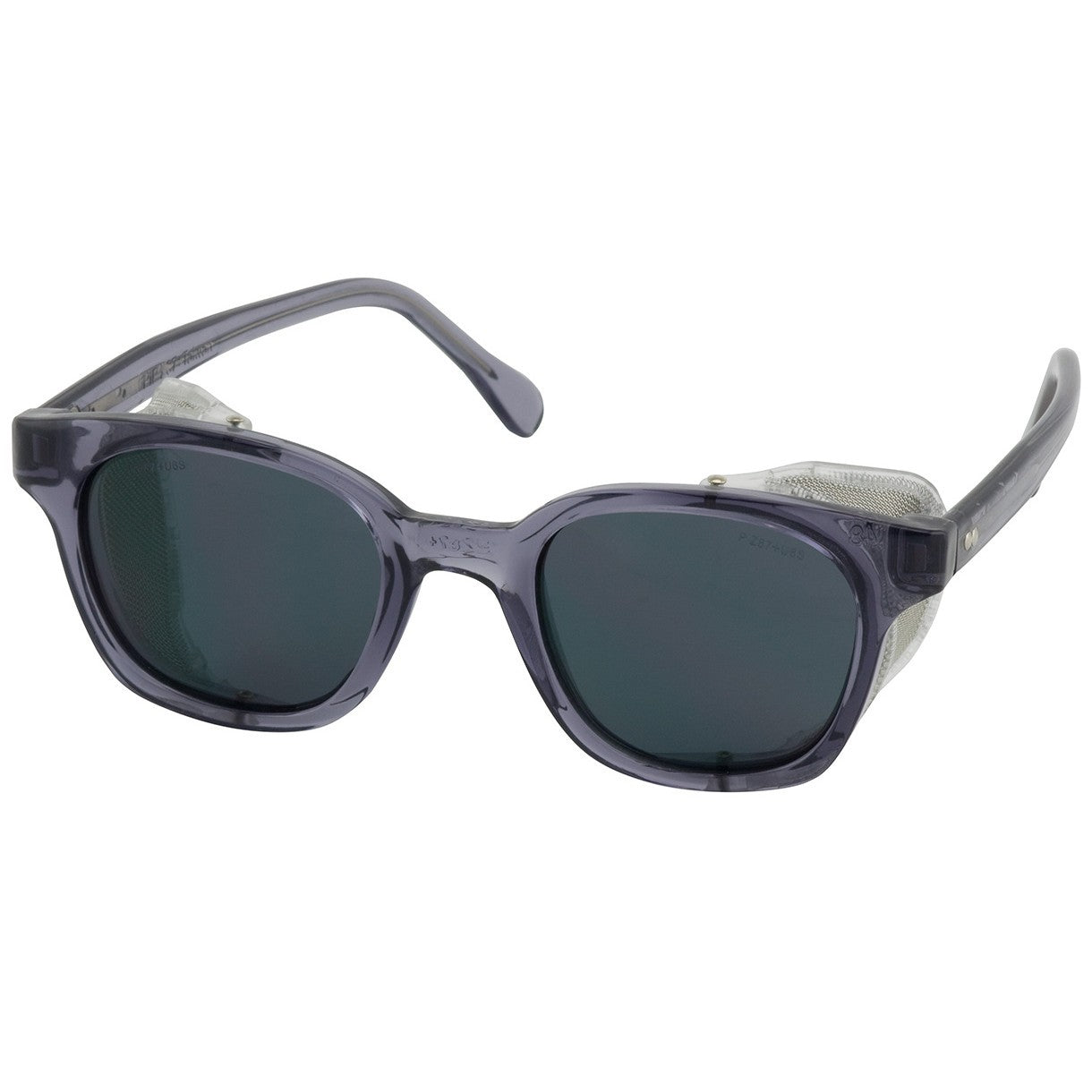 Traditional Safety Glasses - Gray Lens