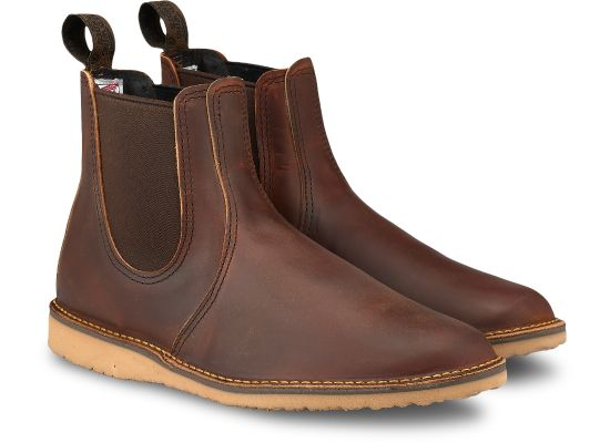 Red Wing - WEEKENDER CHELSEA - Copper Rough & Tough