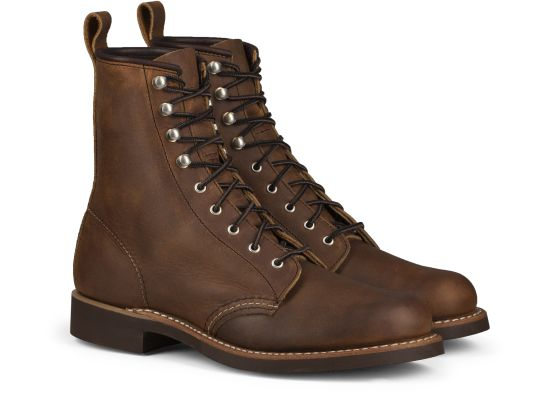 Red Wing - Women's Silversmith - COPPER ROUGH & TOUGH LEATHER
