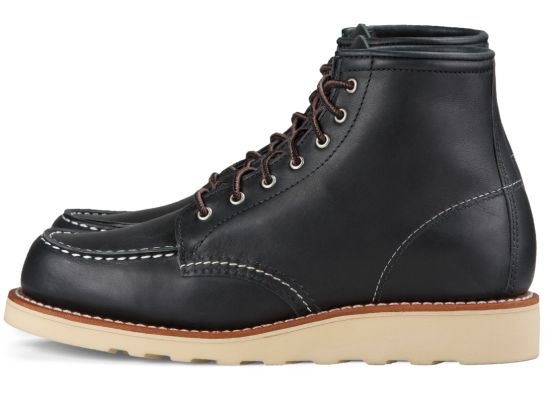 Red Wing - Women's 6-INCH CLASSIC MOC - BLACK BOUNDARY