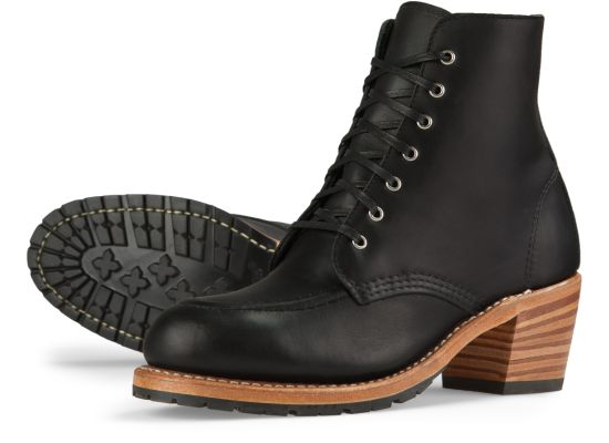Red Wing - Clara - BLACK BOUNDARY LEATHER