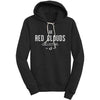 red clouds sweatshirt, hoodie, hoody, black sweatshirt, made in usa, made in portland, red clouds collective, rcc hoodie