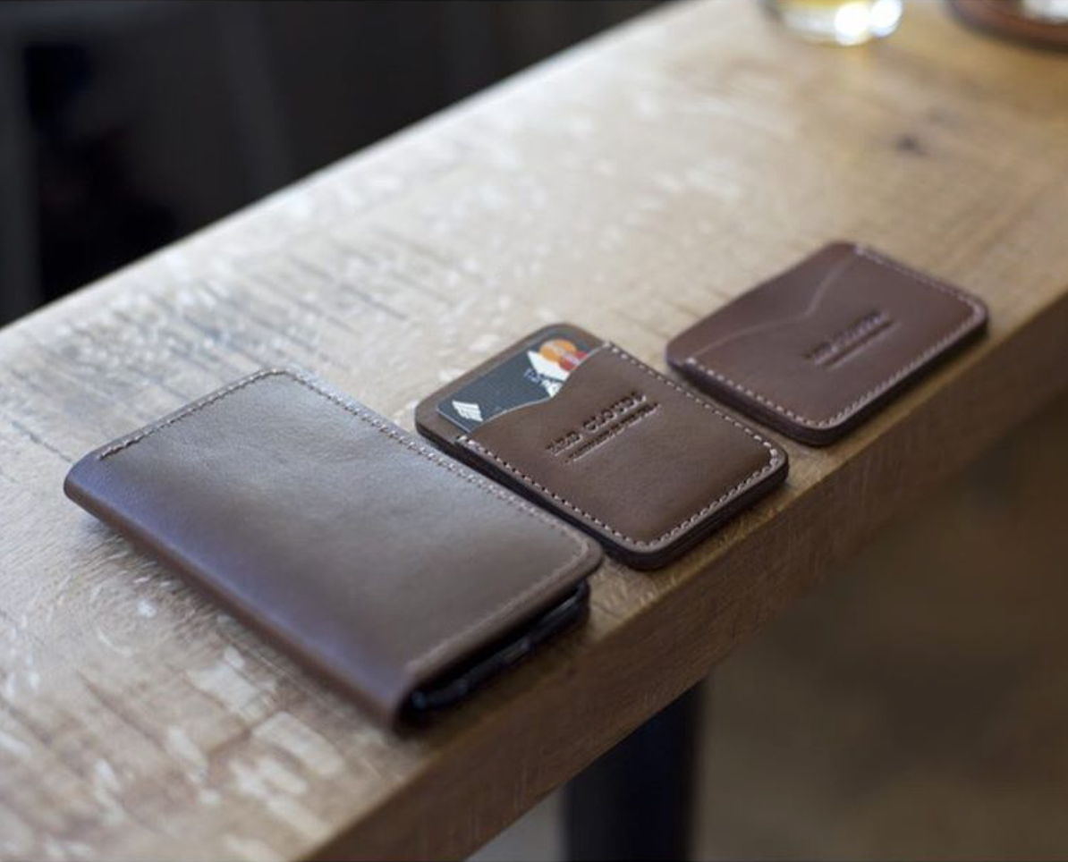 Frontside Vertical Wallet - Black