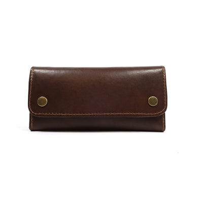 Trucker Wallet, leather, handmade