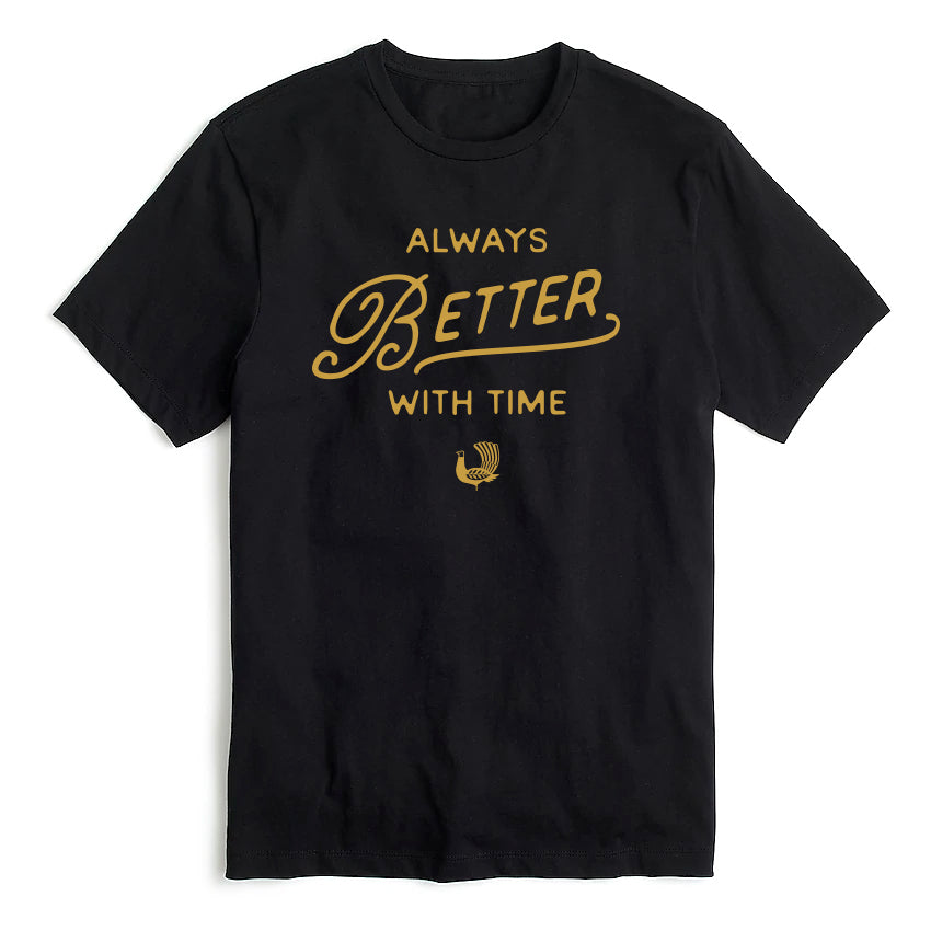Better With Time Tee - Black