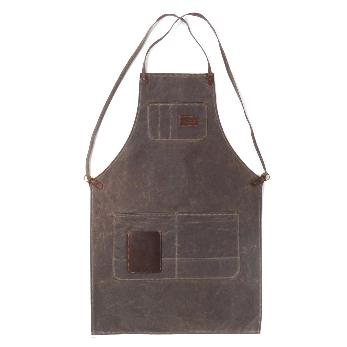 Winston apron, waxed canvas apron, red clouds apron, woodworking apron, metalworking apron, hand eye supply, shop gear, workwear, made in usa, made in portland, Drawing inspiration from classic shop aprons used by wood and metal workers for centuries, the Winston Apron combines a classic look and feel with modern feature and construction updates that enhance the product's longevity.