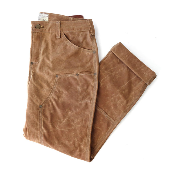 Gn 05 Women S Waxed Canvas Fitted Work Pant Brush Brown
