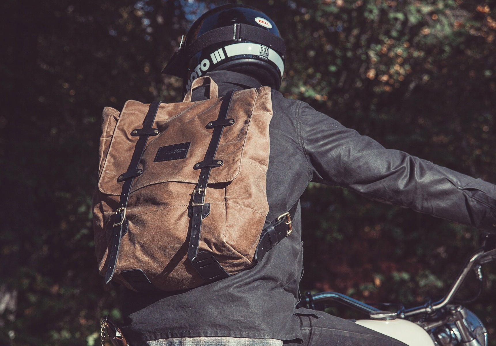 The Catamount Backpack - Olive / Black