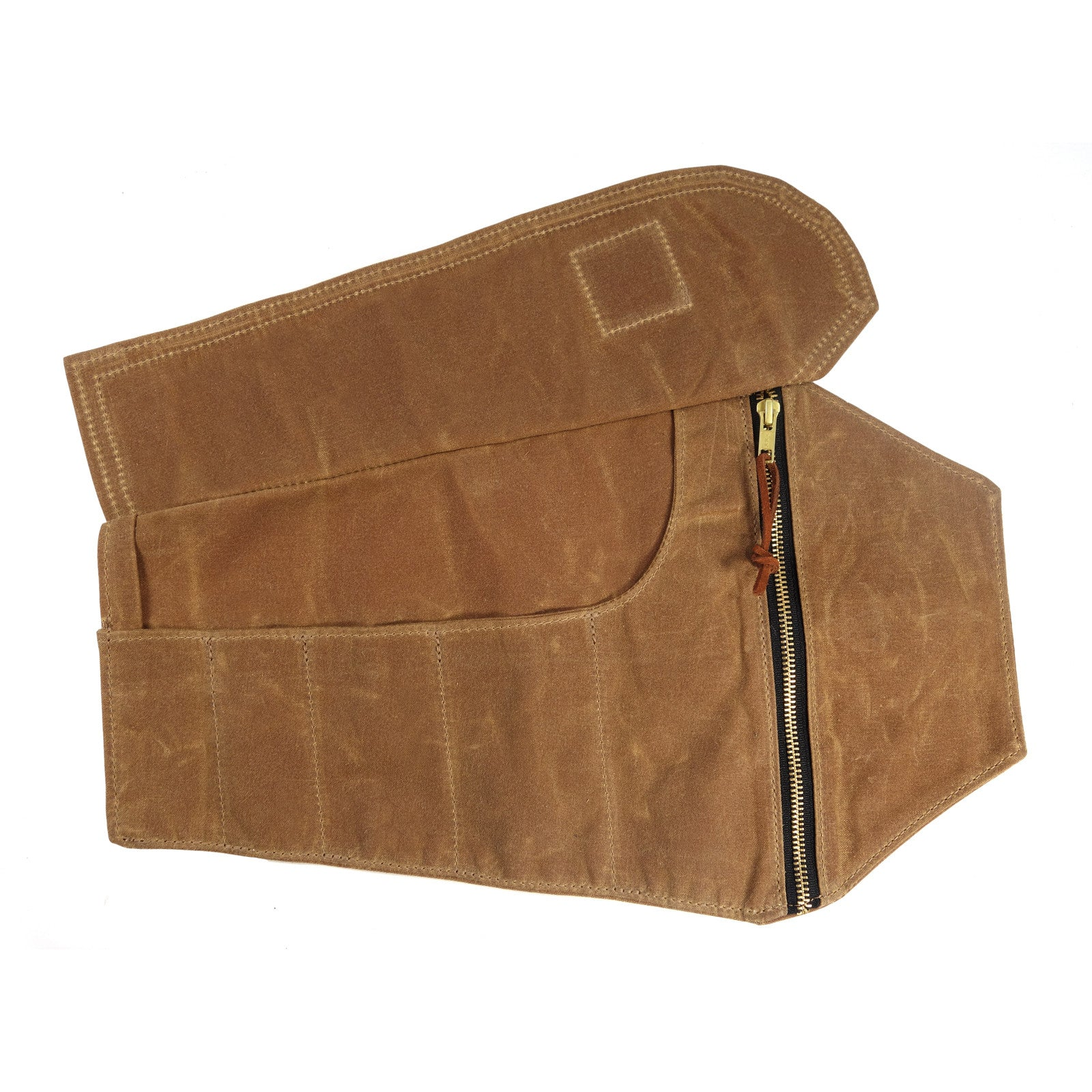 Coffin Tool Roll - Brush Brown