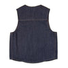 Selvage Denim Vest - Indigo