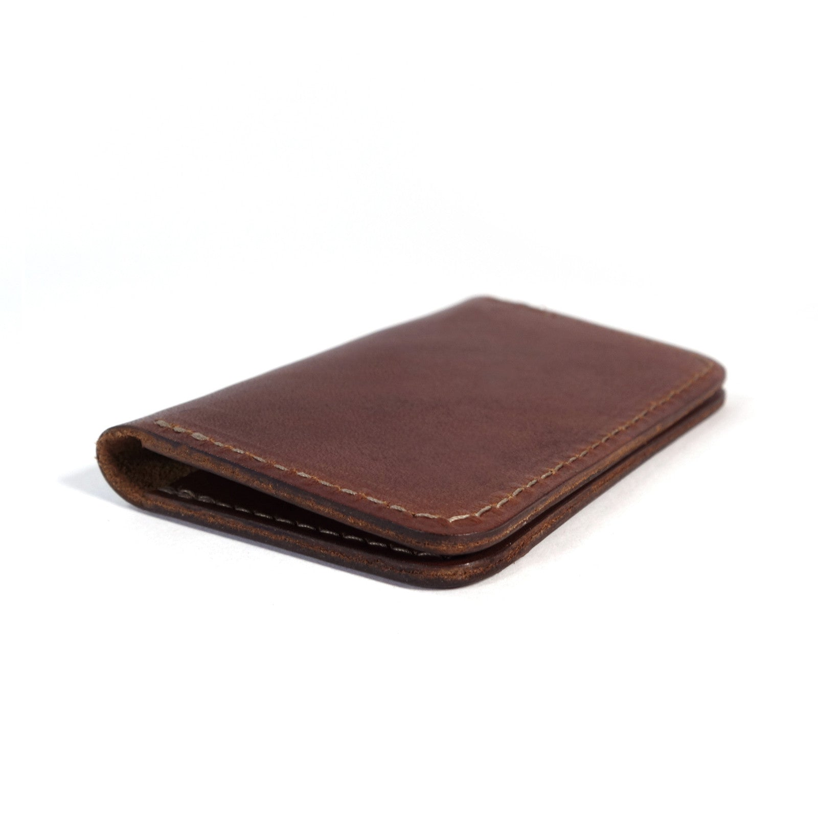 Frontside wallet. Card wallet. slim card case. leather card wallet. For those who like to keep their wallets in their front pockets. Slim enough to comfortably carry and large enough to fit your essential cards and some cash.  3/4oz Herman Oak Vegetable-Tanned Leather 2 Card-Slots