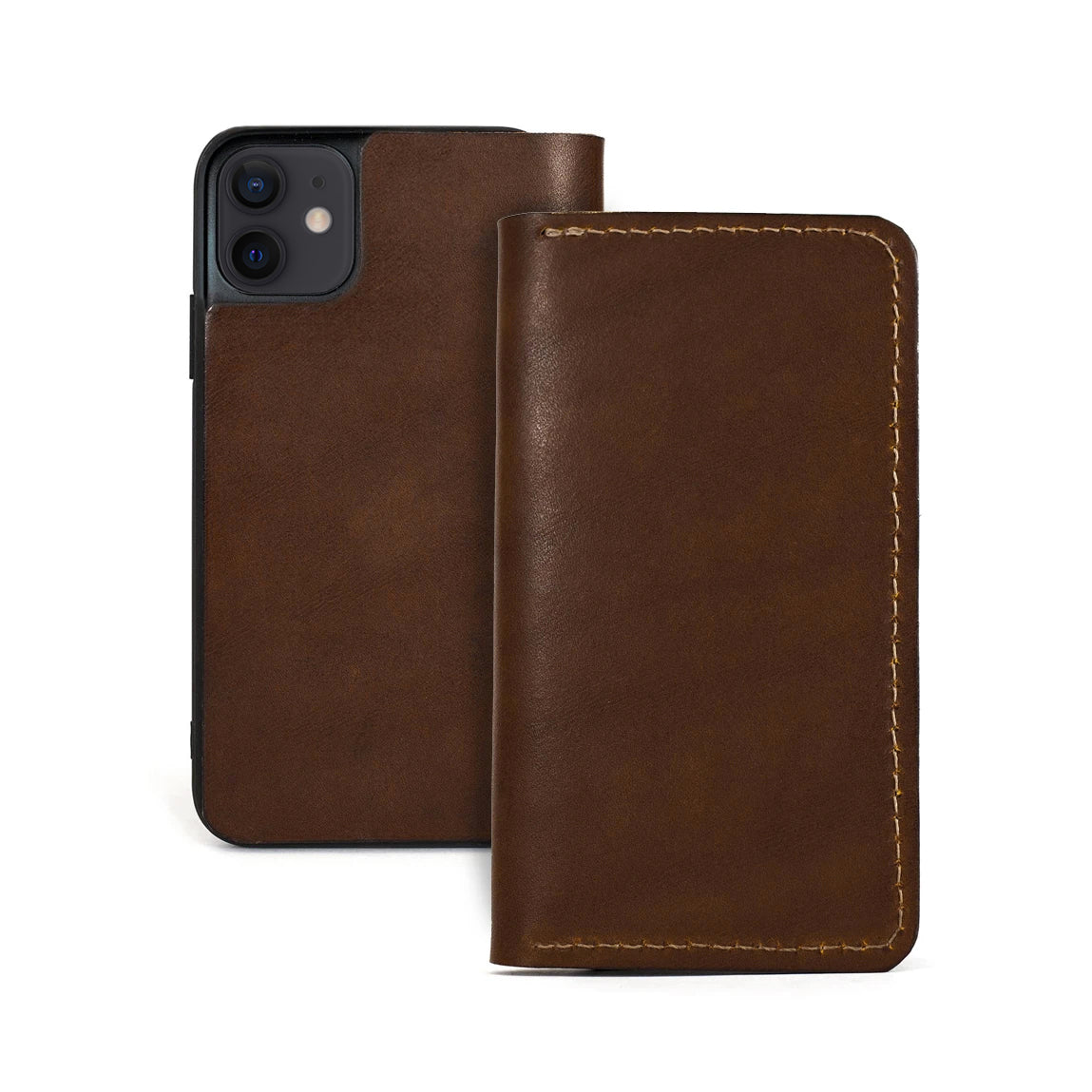 theGOODbook iPhone Wallet - Walnut