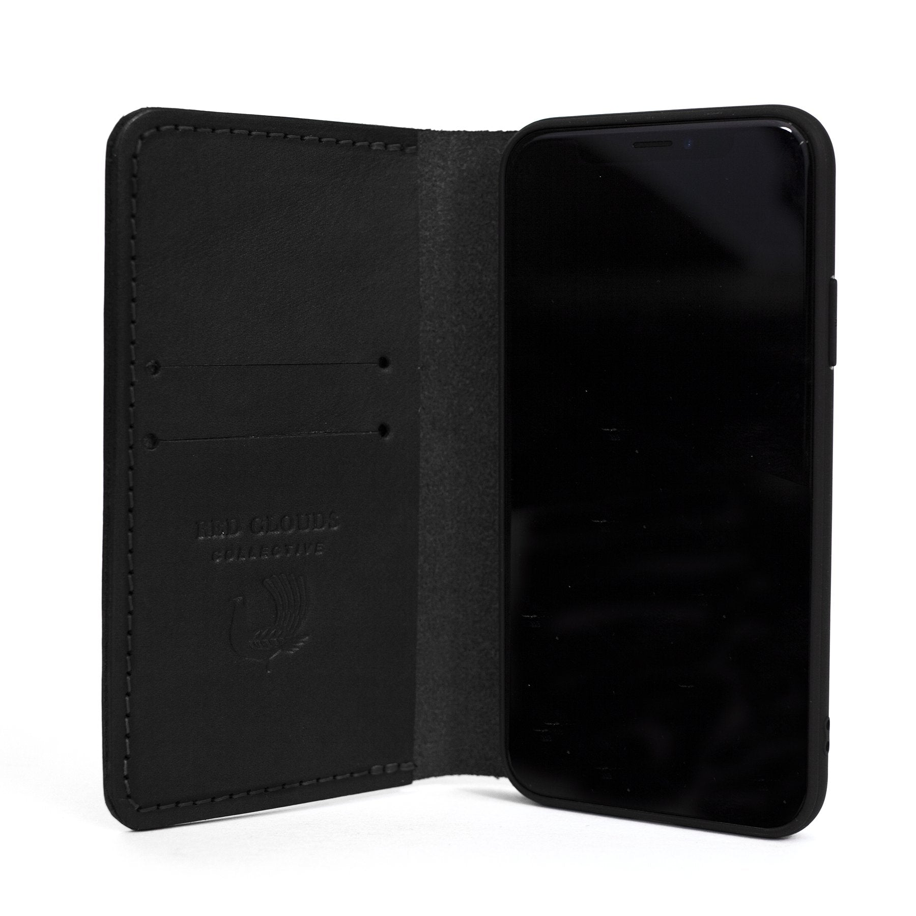 theGOODbook iPhone Wallet - Black