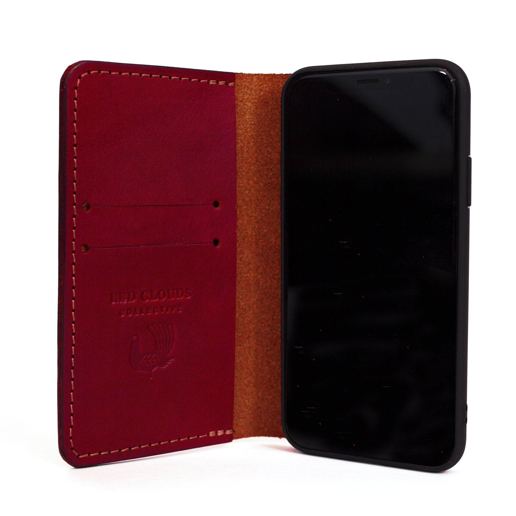 theGOODbook iPhone Wallet - Red