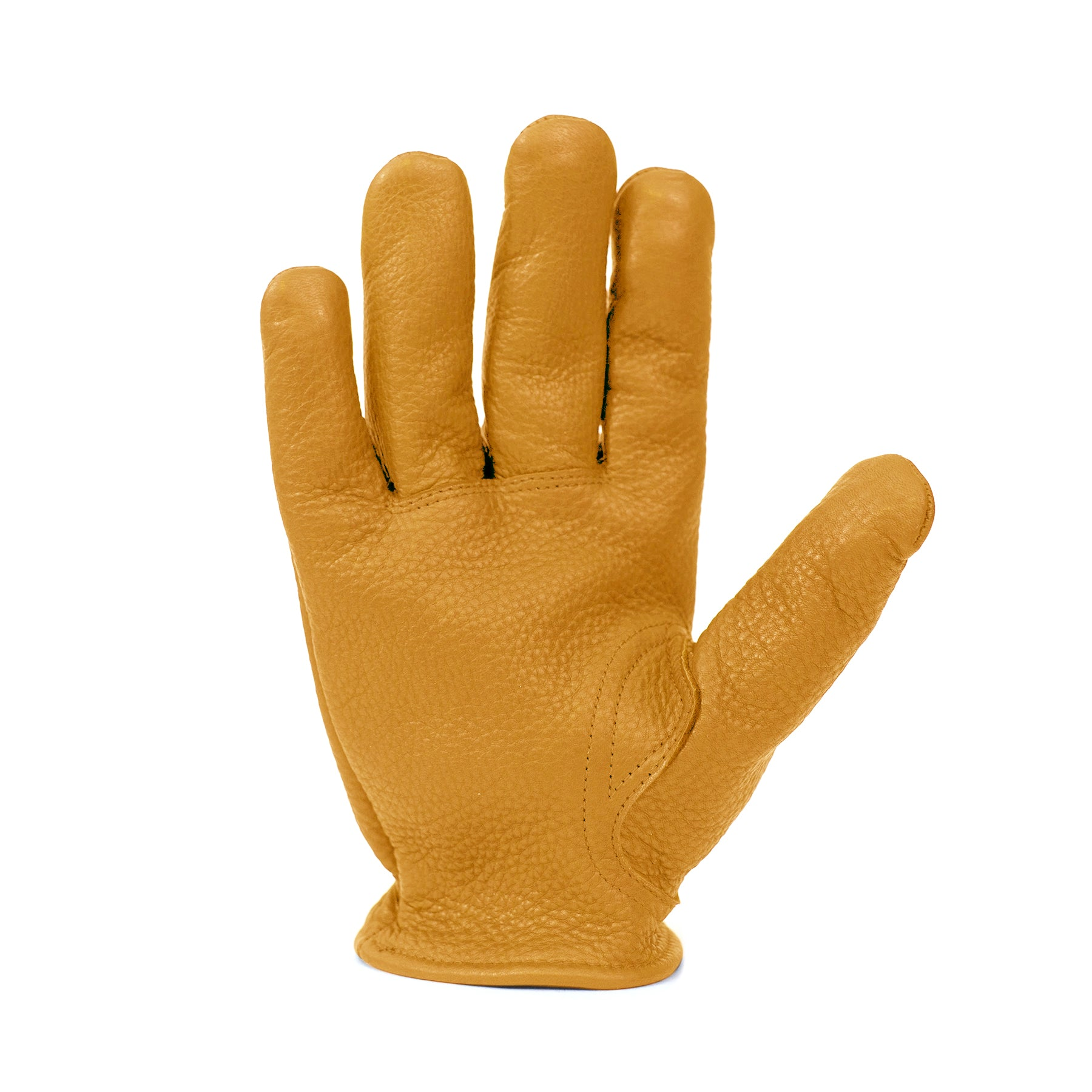 Kevlar Lined Leather Gloves - Golden Buckskin