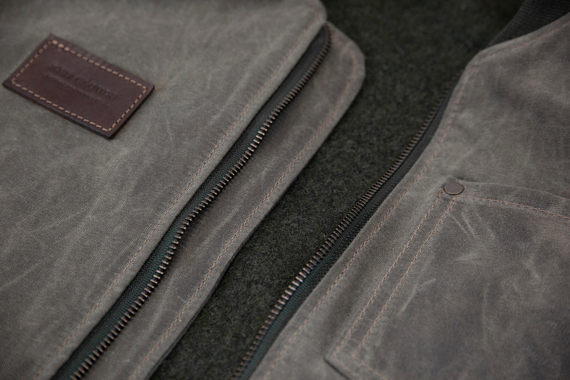 Hawthorne Vest - Black Waxed Canvas
