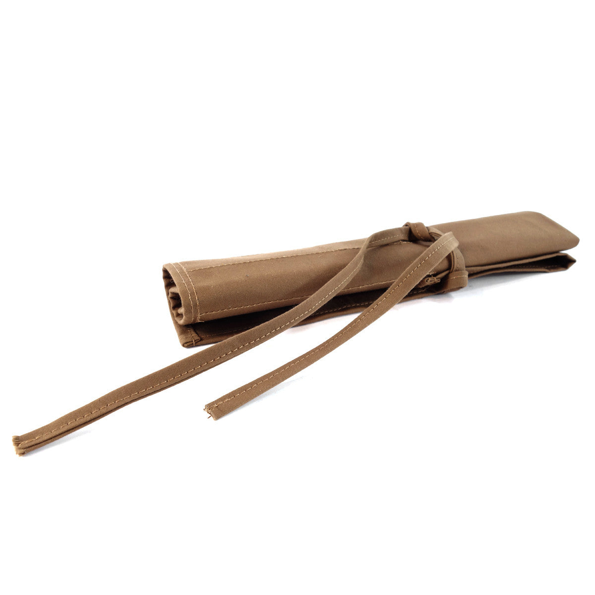 The Berkshire Pencil and Brush Roll - Camel