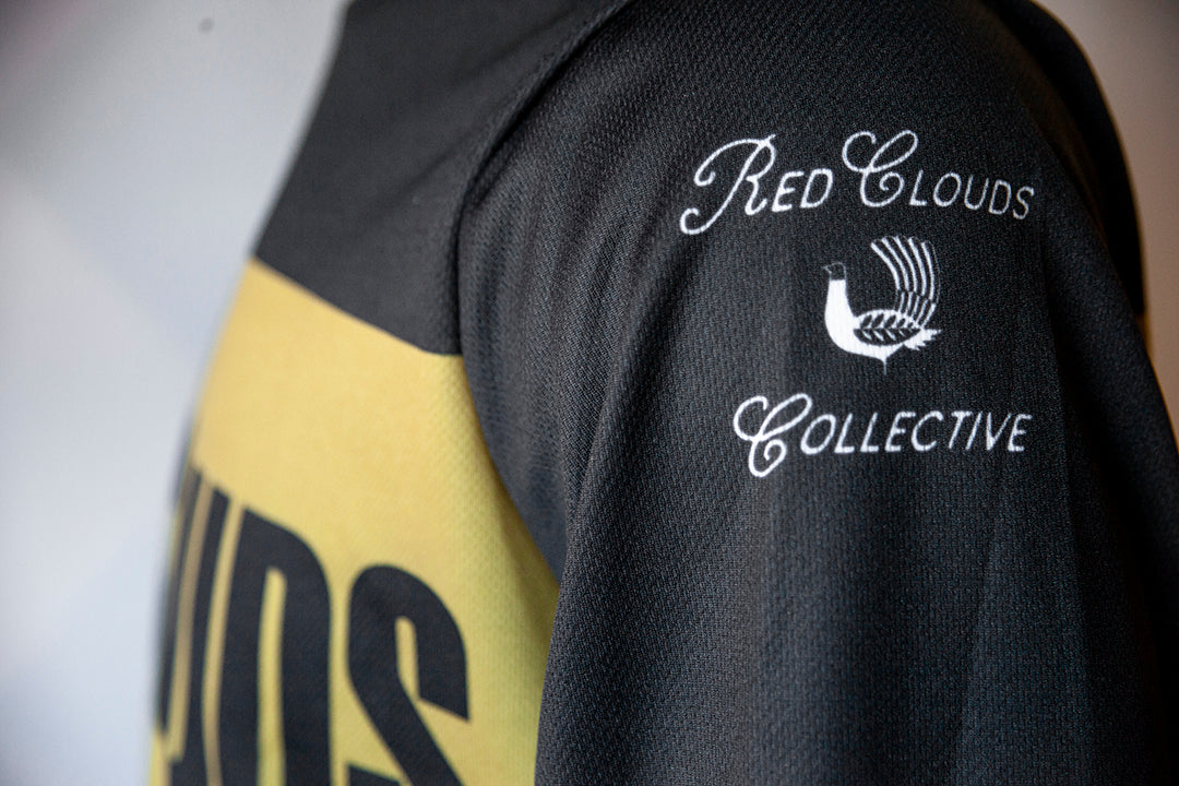 Red Clouds Moto Jersey