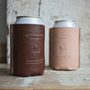 Leather Koozie - Black