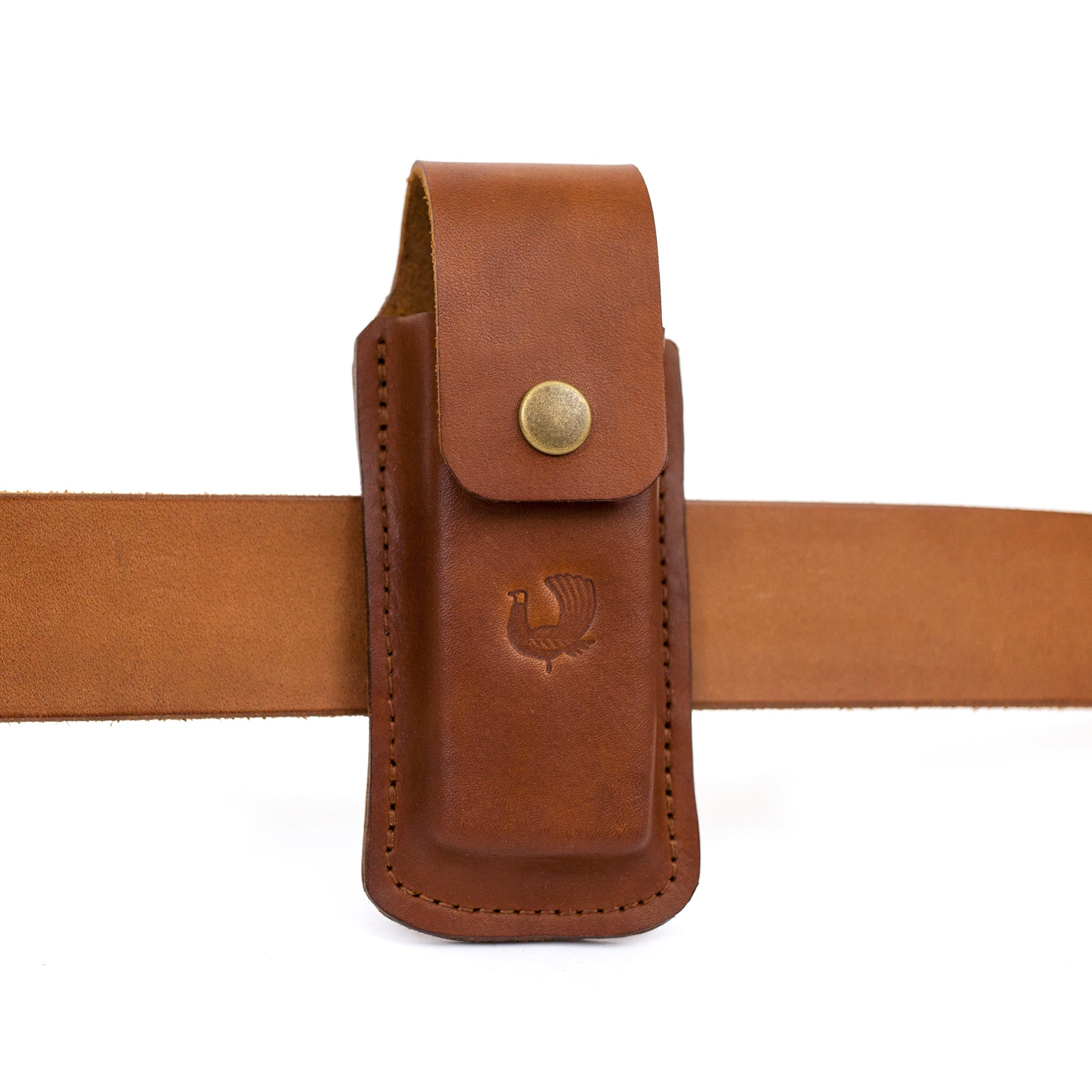 Large Multi-Tool Sheath - Saddle Tan