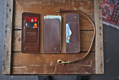 Rigby Trucker Wallet - Walnut