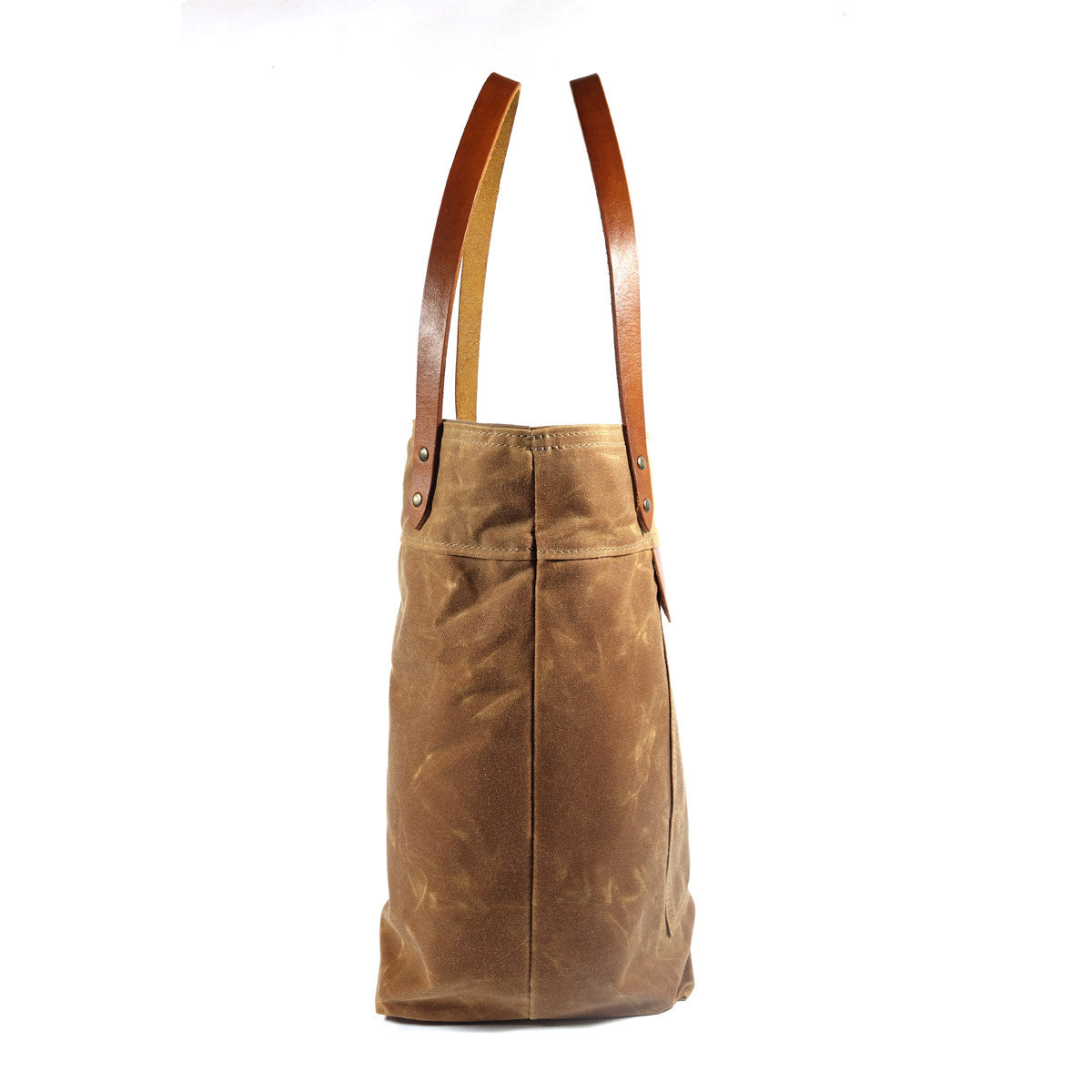Over The Shoulder Tote Bag Brush Brown Red Clouds