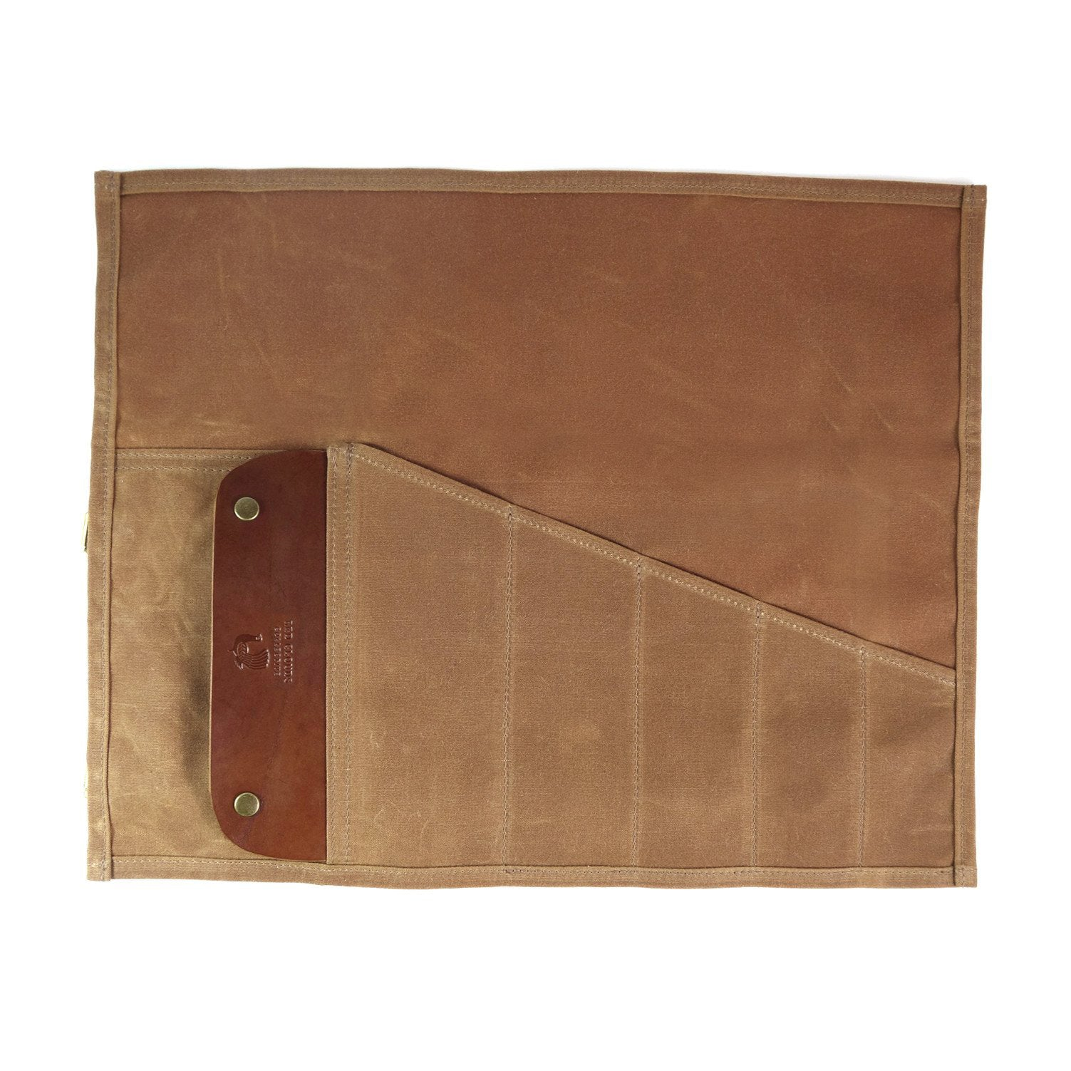 Landseer Tool Roll - Brush Brown