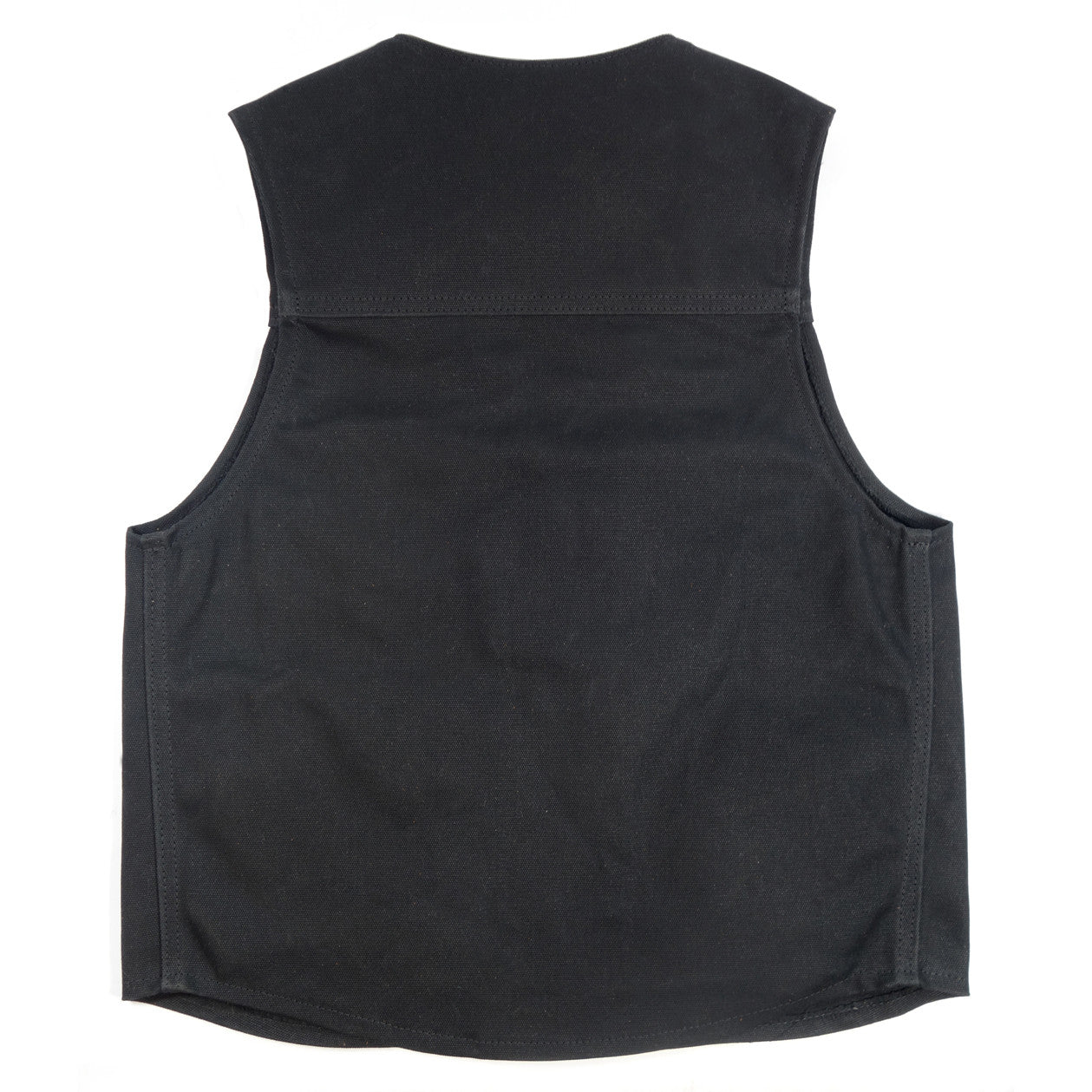 Selvage Denim Vest - Black
