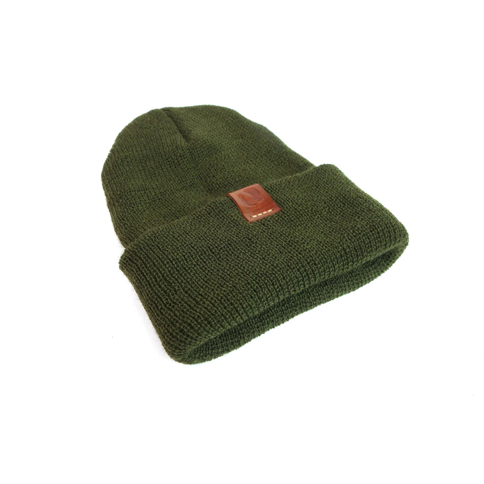 Wool Watch Cap - Olive - Red Clouds Collective - Made in the USA da8e46ac2e8