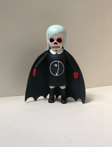Skull Kiddo Bat (Bauhaus - green hair)