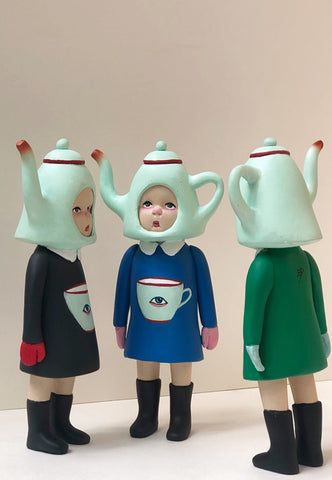 Kettle Kiddo (blue dress)