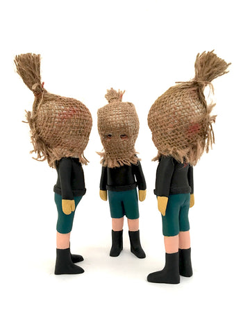 Burlap Masked Kiddo (one left)