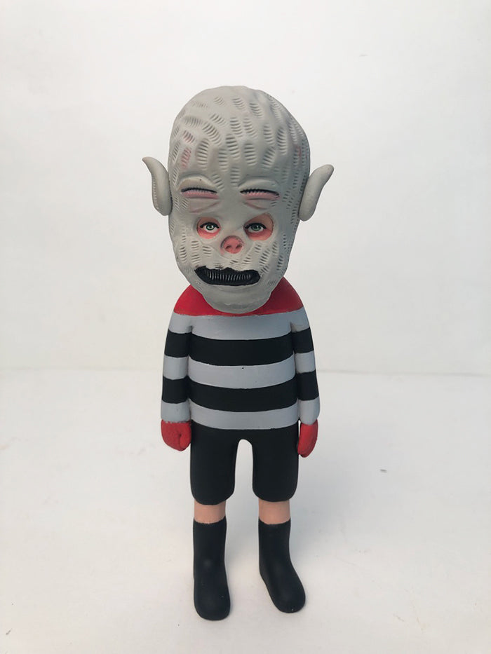one-off Masked Kiddo (stripes)
