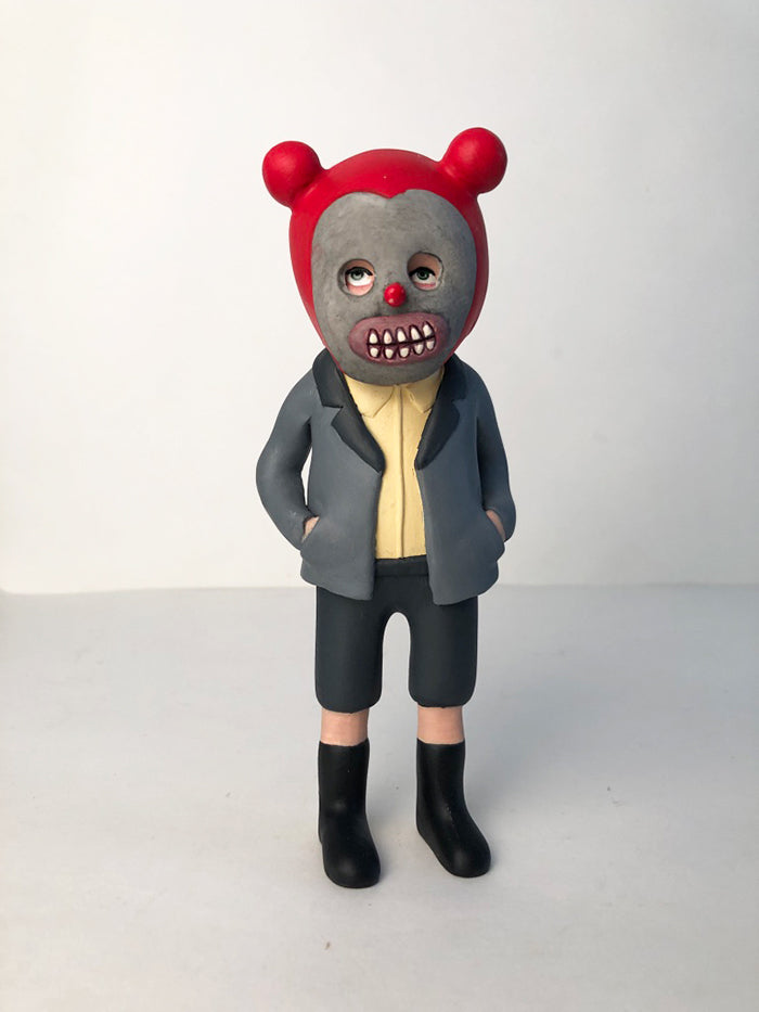 Kiddo clown mask (grey suit)