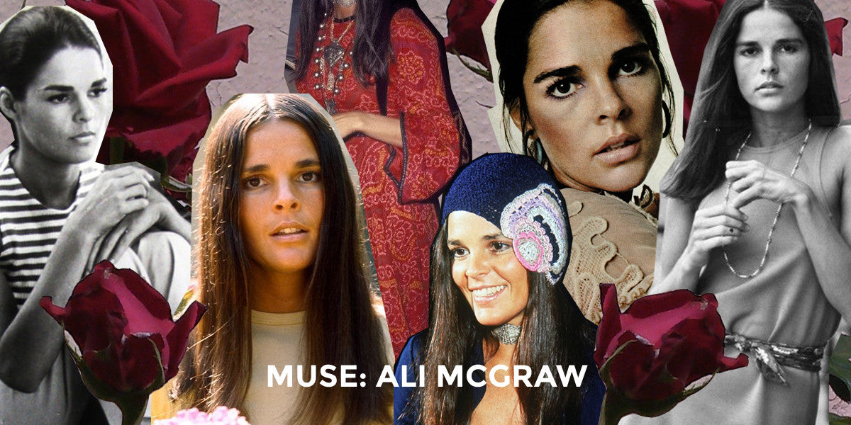 MUSE: Ali Macgraw // the soulful brunette
