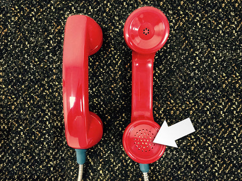 Red Handset with NO Blue Dot