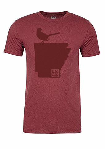 Arkansas State Bird Tee/Red on Red - Men's