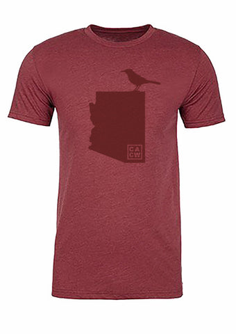 Arizona State Bird Tee/Red on Red - Men's