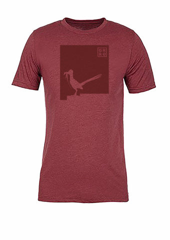 New Mexico State Bird Tee/Red on Red - Women's