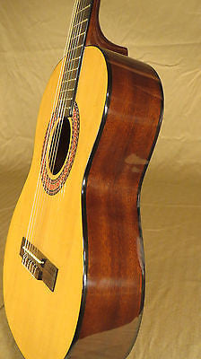 Chateau Student Classical Guitar (3/4) Cedar Top Mahogany Back  GREAT LOW  PRICE