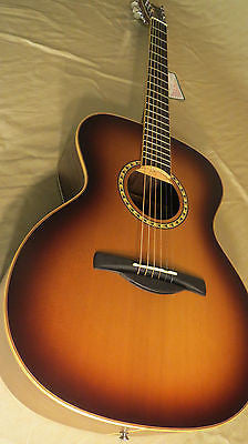 Chateau Acoustic Guitar FOLK-STYLE BODY w/Rosewood back & side C08-300FBS