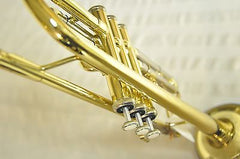 Chateau B Flat Trumpet Student Model VCH-298SNLE Nickel Silver & Lacquer Body