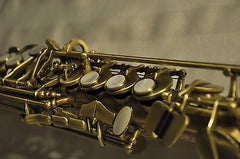 Chateau Handmade Soprano Saxophone Antique Finish VCH-S830ANY2