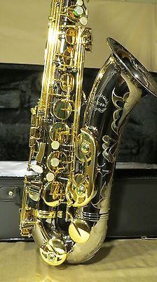 Chateau Professional Handmade Tenor Saxophone Black Plate Body Lacquer Keys CTS-80BL