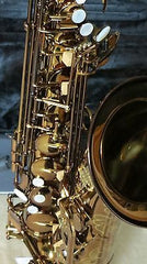 Chateau Tenor Saxophone High Quality Student Model Dark Lacquer (Cognac) Finish CTS-50C