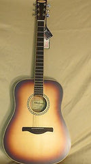 Chateau Acoustic Guitar Western-style Spruce Top Mahogany B/S C08-200WBS