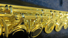 Chateau Professional C Flute Nickel Plated