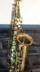 Chateau Alto Saxophone VCH A920DZ All Champagne Color Finish, red brass body, 92% copper